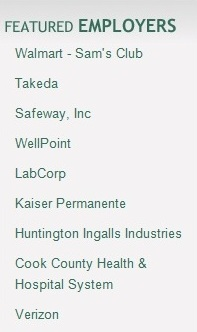 Sponsorship section of newsletter